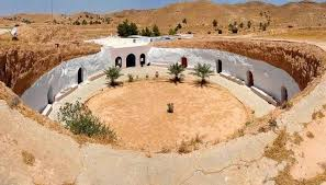 homes with courtyards the amazigh cave homes of matmata in tunisia amazigh world news
