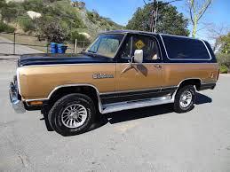 1985 dodge ram truck dodge ramcharger royal se 4x4 suv 5 9l v8 1985 power ram 1 owner