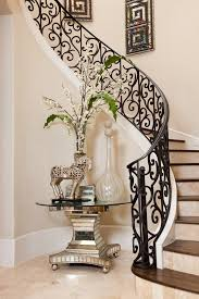 Wall Banister San Francisco Wrought Iron Staircases Staircase Traditional With