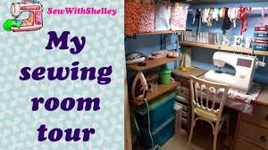 how to organise a sewing room sewing room tour youtube
