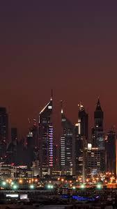 download wallpaper 1440x2560 dubai united arab emirates night