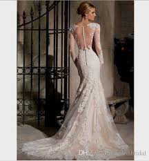wedding dress lace top mermaid naf dresses