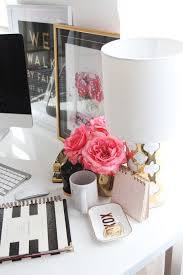 chic office decor meagan ward s girly chic home office office tour stylists girly