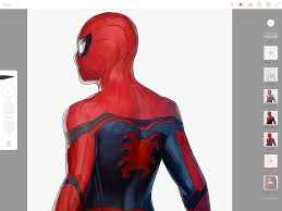 spider man homecoming behance