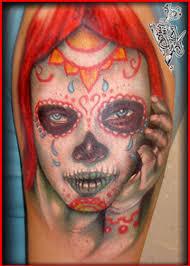 art junkies tattoo studio tattoos big gus day of dead