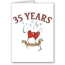 35 wedding anniversary 35 yrs wedding anniversary gift ideas bethmaru