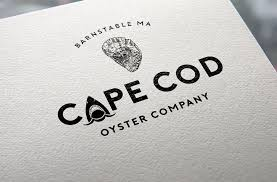 bold playful logo design for cape cod oyster company by gldesigns