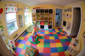 simple designed boys playroom ideas which is nuanced in colorful