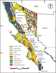 La Paz Mexico Map by 3 Geological Map Of The Baja California Peninsula And Adjacent