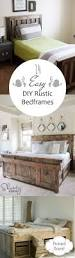 17 best images about for the home on pinterest diy headboards 14 easy diy rustic bedframes