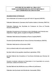 grille salaire chambre agriculture idcc 573 accord sur les salaires dans la ccn des commerces de gros