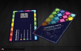 Business Card Design Psd File Free Download Colorful Shapes Business Card Template Psd File Free Download