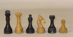 chess sets from the chess piece chess set store black and golden