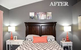 Dazzling Coral And Gray Bedding Mode San Francisco Traditional - Coral color bedroom