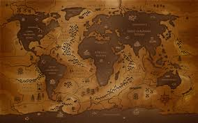 wallpaper middle earth map of middle earth wallpaper