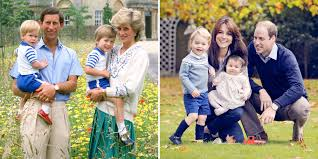 compare the 1986 royal family photo to the 2015 portrait