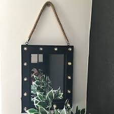 Hanging Bathroom Mirror by Led Hanging Wall Mirror Bathroom Mirror Industrial Dressing Vanity