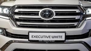 toyota cruiser white обзор toyota land cruiser 200 executive white и executive black