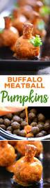 buffalo meatball pumpkins recipe buffalo meatballs