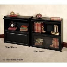 Small Bookshelf With Doors Black Bookcase With Doors Small Black Bookcase With Doors Home