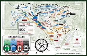 Big Sky Trail Map Bike Park Things To Do In Lake Arrowhead Skypark At Santa U0027s