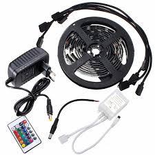 4 x 50cm 5050 rgb led light color changing mood lighting tv