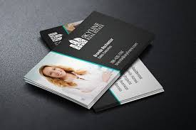 Photo Business Card Template Real Estate Business Card Template Business Card Templates
