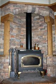 fireplace classy stone surround fireplace for you diy stacked