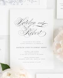 cing wedding registry southern script wedding invitations wedding invitations by shine