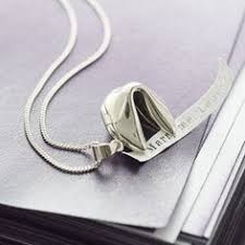 silver fortune cookie gift a beautiful sterling silver fortune cookie necklace containing a