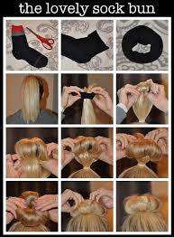 sock hair bun easy sock bun tutorial for a hairstyle alldaychic