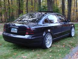 volkswagen passat black rims blacked out