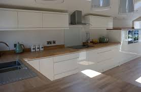 Kitchens B Q Designs Welford Cream U0026 Willow Kitchen Mdf Handleless Painted High Gloss