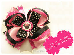 minnie mouse hair bow the290ss minnie mouse inspired hair bow in pink updated 10 11 16