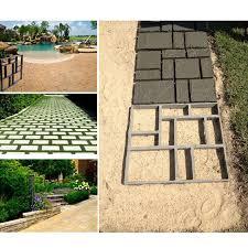Concrete Driveway Paver Molds by Diy Driveway Paving Pavement Mold Concrete Stepping Stone Pathmate
