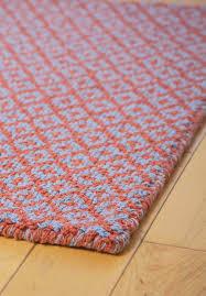 Cotton Wool Rugs Diamonds Forever Orange Blue Eco Cotton Loom Hooked Rug Hook U0026 Loom