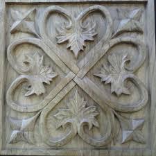 Wood Panel Wall Decor Wood Carving Wall Art Lotus Thai Teak Wood Carving Home Plate