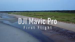 dji mavic pro my first flight cape cod youtube