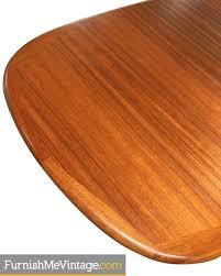 oval teak dining table expanding oval danish modern teak dining table