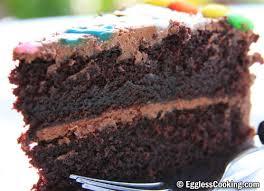 easy eggless chocolate cake recipe eggless cooking