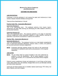 Sample Objectives In Resume For Service Crew by Delivering Your Credentials Effectively On Auto Mechanic Resume