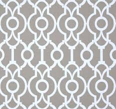 Black And White Drapery Fabric Contemporary Grey Fabric By The Yard Designer Geometric Drapery