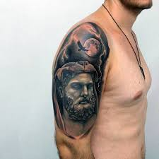 75 hercules tattoo designs for men heroic ink ideas