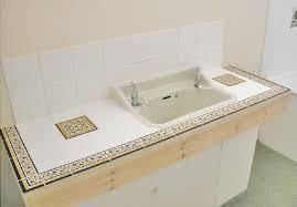 bathroom countertop tile ideas gorgeous 27 best tile countertops images on tile