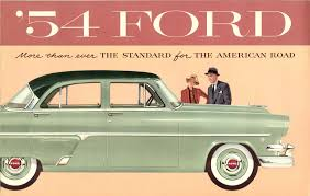 1954 ford brochure