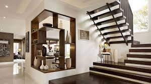 Stunning Modern Staircase Design For Homes With Black Wooden - Designer for homes