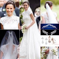 pippa middleton kate u0027s sister was a radiant bride in a bespoke