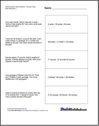 word problem worksheets 4th grade worksheets