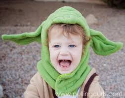 Yoda Halloween Costume Toddler Yoda Costume Pulling Curls