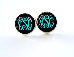Monogrammed Earrings Best 20 Diy Monogram Earrings Ideas On Pinterest